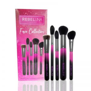 5 Piece Face Brush Collection